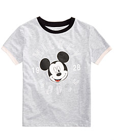 Disney Big Girls Mickey Mouse Graphic-Print T-Shirt