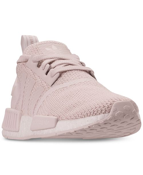 b59644836508 adidas Women s NMD R1 Casual Sneakers from Finish Line   Reviews ...
