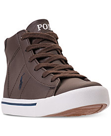 Polo Ralph Lauren Little Boys' Easten Mid Casual Sneakers from Finish Line