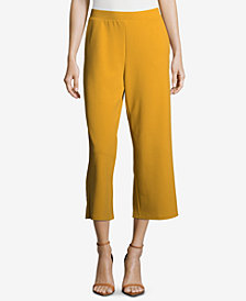 ECI Pull-On Stretch Wide-Leg Trousers