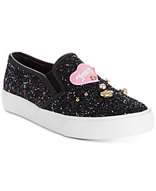 Juicy Couture Little & Big Girls Paradise Sparkle Slip-Ons