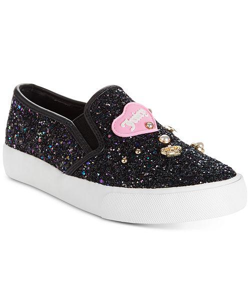 89f33b85389d Juicy Couture Little   Big Girls Paradise Sparkle Slip-Ons   Reviews ...