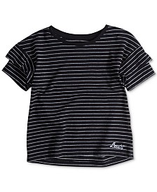 Levi's® Little Girls Striped Cotton T-Shirt