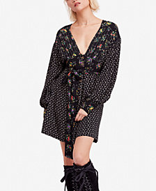 Free People Wonderland Printed Mini Dress