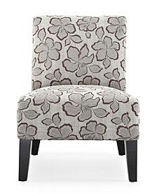 Monaco Accent Chair, Hibiscus Hazel