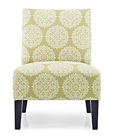 Monaco Accent Chair, Gabrielle Moss