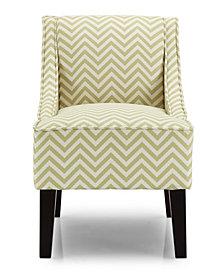 Phoenix Accent Chair, Ziggi Citron