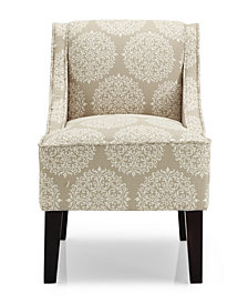 Marlow Accent Chair, Gabrielle Pearl