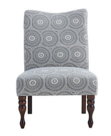 Payton Accent Chair, Medallion Grey
