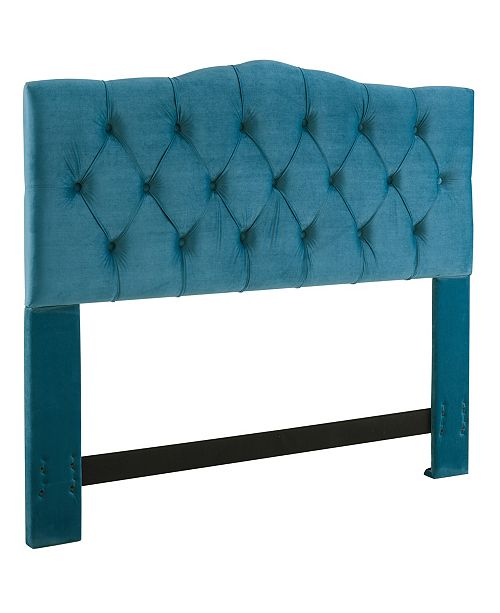 Dwell Home Inc. Jameson Headboard, King/California King, Ice Blue