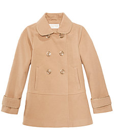 MICHAEL Michael Kors Big Girls Double-Breasted Coat