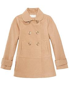 MICHAEL Michael Kors Big Girls Double-Breasted Coat