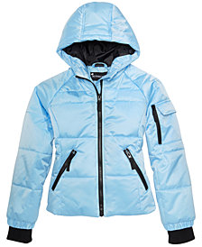S. Rothschild Big Girls Hooded Puffer Jacket