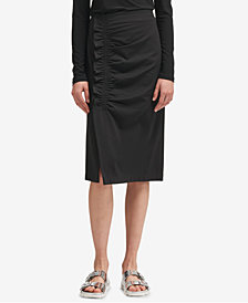 DKNY Ruffle-Trim Pencil Skirt, Created for Macy's