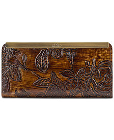 Patricia Nash Bark Leaves Tulli Wallet, Created for Macy's