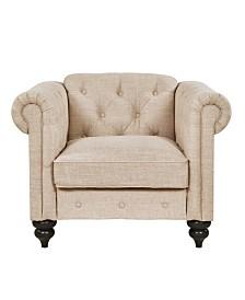 Sofas 2 Go Elizabeth Chair Flax