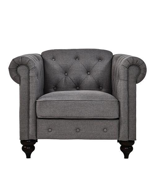 Swell Sofas 2 Go Elizabeth Chair Charcoal Inzonedesignstudio Interior Chair Design Inzonedesignstudiocom