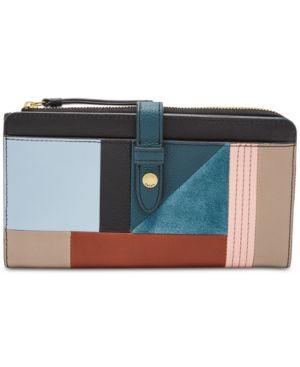 FIONA PATCHWORK TAB WALLET