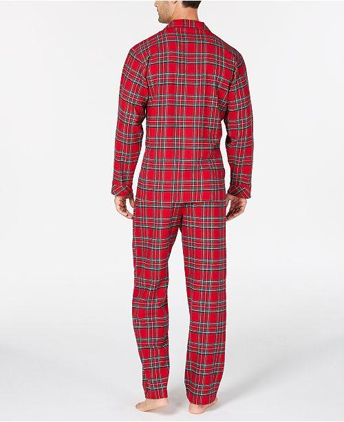 ceb861b73714 Family Pajamas Matching Men s Brinkley Plaid Pajama Set