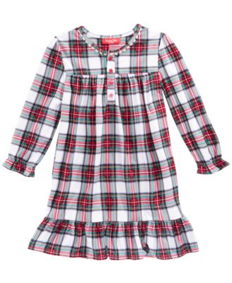 Matching Stewart Plaid Nightgown, Available in Toddler and Kids, Created for Macy's