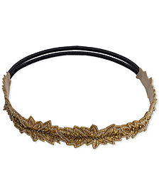 Deepa Gold-Tone Embellished Stretch Headband