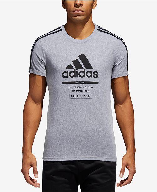 adidas Men s ClimaLite reg  Logo T-Shirt  adidas Men s ClimaLite reg  ... e5d577da9ccce