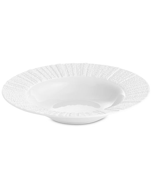 Michael Aram Gotham White Rimmed Bowl