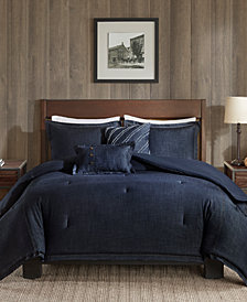 Woolrich Perry 4-Pc. Twin/Twin XL Denim Comforter Set