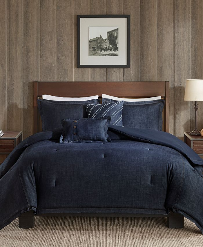 Woolrich - Perry 5-Pc. Denim Comforter Sets