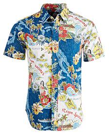 Reyn Spooner Men's Status Oceanic Printed Shirt