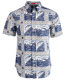 Reyn Spooner Mens Molokai to Oahu Shirt
