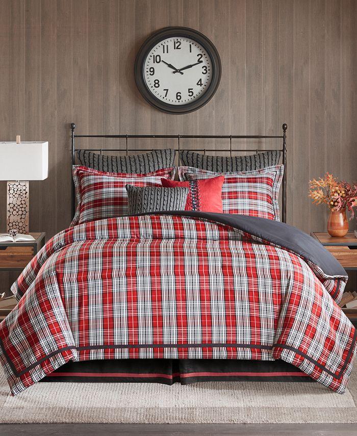 Woolrich - Williamsport Plaid 4-Pc. King Comforter Set