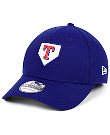 New Era Texas Rangers The Plate 39THIRTY Cap