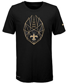 Nike New Orleans Saints Football Icon T-Shirt, Big Boys (8-20)