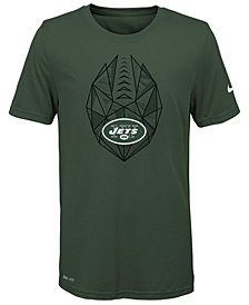 Nike New York Jets Football Icon T-Shirt, Big Boys (8-20)