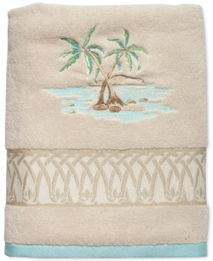 Lenox British Colonial Cotton Terry Embroidered Bath Towel Bedding
