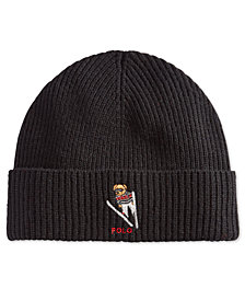 Polo Ralph Lauren Men's Polo Bear Skiing Cuffed Hat