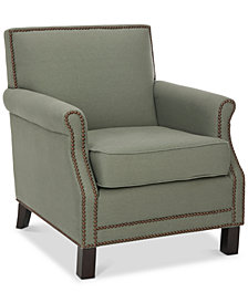 Benson Accent Chair, Quick Ship