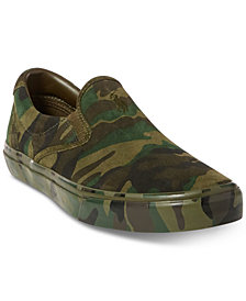 Polo Ralph Lauren Men's Thompson Suede Slip-On Sneakers