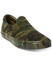 Polo Ralph Lauren Men s Thompson Suede Slip-On Sneakers 66941355c9