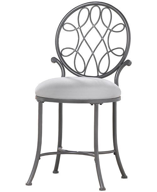Outstanding Omalley Vanity Stool Short Links Chair Design For Home Short Linksinfo