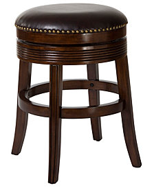 Tillman Backless Swivel Bar Stool