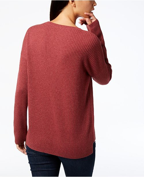 Neck Eileen Sweater Petite amp; Fisher Cashmere Regular Monterey Scoop nY0E10
