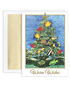 Masterpiece Studios Tropical Fish Tree Boxed Cards