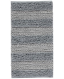 "CLOSEOUT! Cascada Home Cotton Jersey Stripe 20"" x 36"" Accent Rug"
