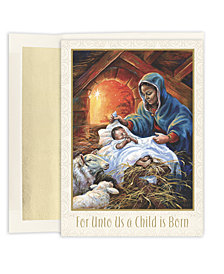 Masterpiece Studios Mary & Joseph Boxed Cards