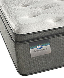 "ONLINE ONLY! BeautySleep 14"" Sun Valley Plush Pillow Top Mattress- Twin XL"