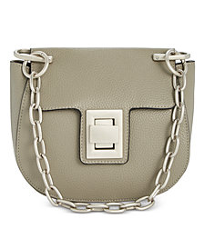 Steve Madden Kaia Chain Saddle Crossbody