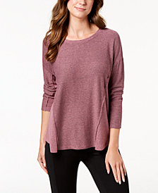 Style & Co Petite Scoop-Neck Top, Created for Macy's