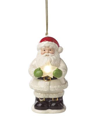 8b8bdb7e83ba3 Lenox Starry Lit Musical Santa Ornament   Reviews - All Holiday Lane - Home  - Macy s